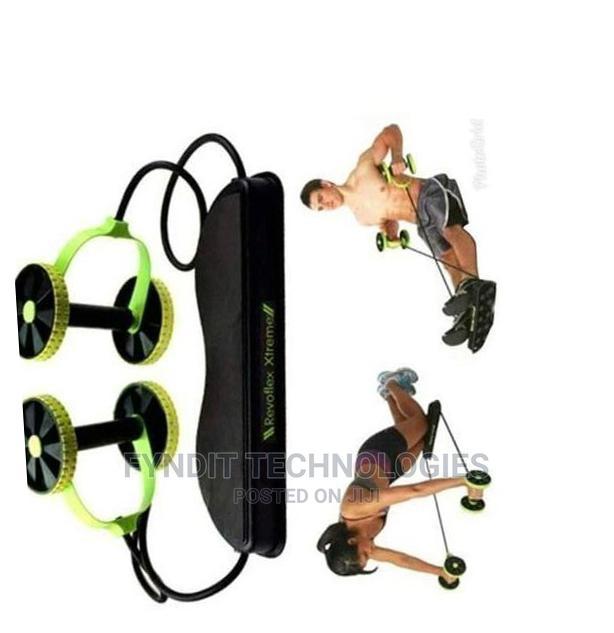 Revoflex Extreme Exercise Roller -Green Black