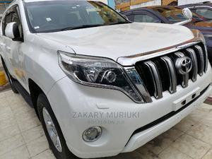Toyota Land Cruiser Prado 2014 White   Cars for sale in Mombasa, Shimanzi