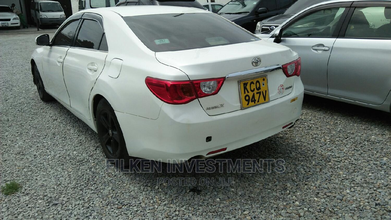Toyota Mark X 2010 White   Cars for sale in Ganjoni, Mombasa, Kenya