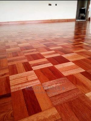 Mahogany Woodblocks and Flooring Tiles Per Square Meter | Building Materials for sale in Kiambu, Ruiru