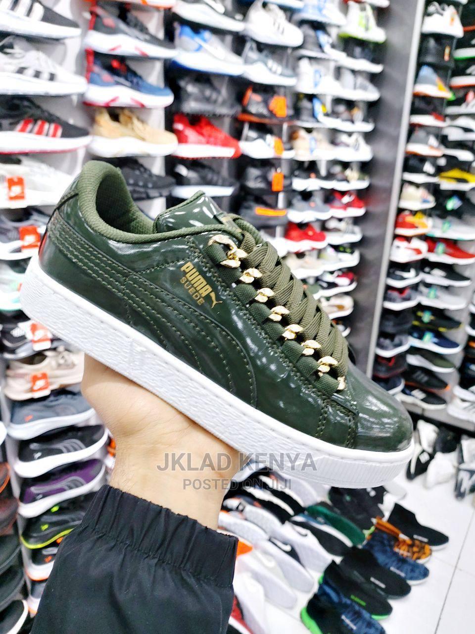 Ladies Leather Sneakers