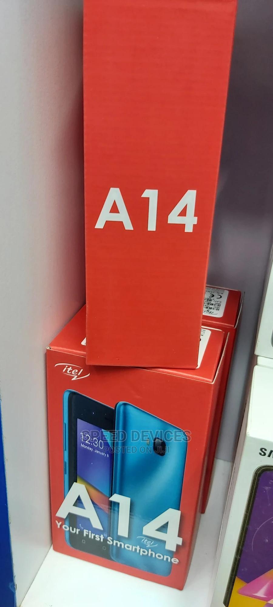 Archive: New Itel A14 8 GB Black