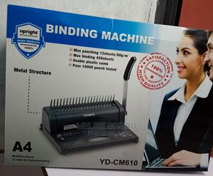 Bright Office Manual Book Comb Binding Machine Best Qualit   Stationery for sale in Nairobi, Nairobi Central