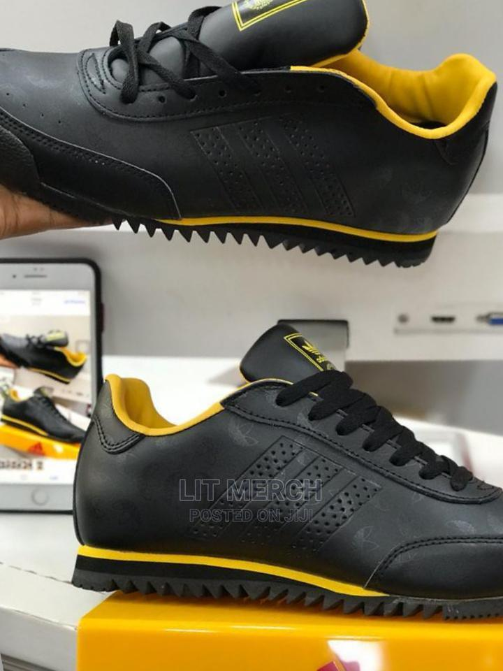 Leather Adidas Sneakers