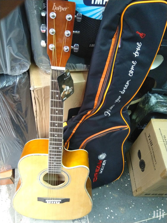 Acoustic Guitar & Padded Bag