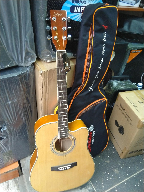 Acoustic Guitar & Padded Bag | Musical Instruments & Gear for sale in Nairobi Central, Nairobi, Kenya