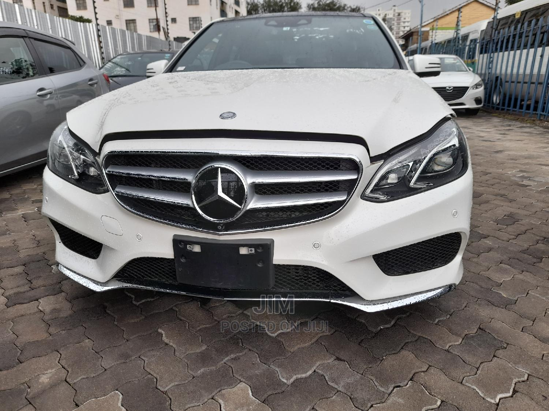 Archive: Mercedes-Benz E250 2014 White