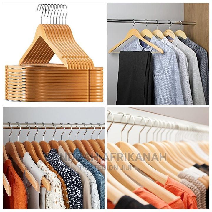 Wooden Hangers(10pcs-1400/=)