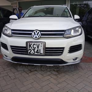 Volkswagen Touareg 2012 VR6 Lux White   Cars for sale in Mombasa, Mombasa CBD