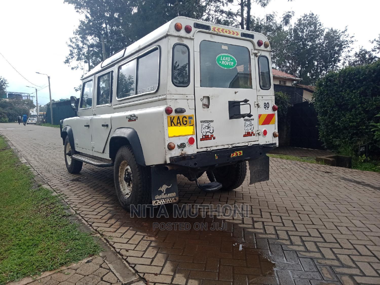Land Rover Defender 1993 White