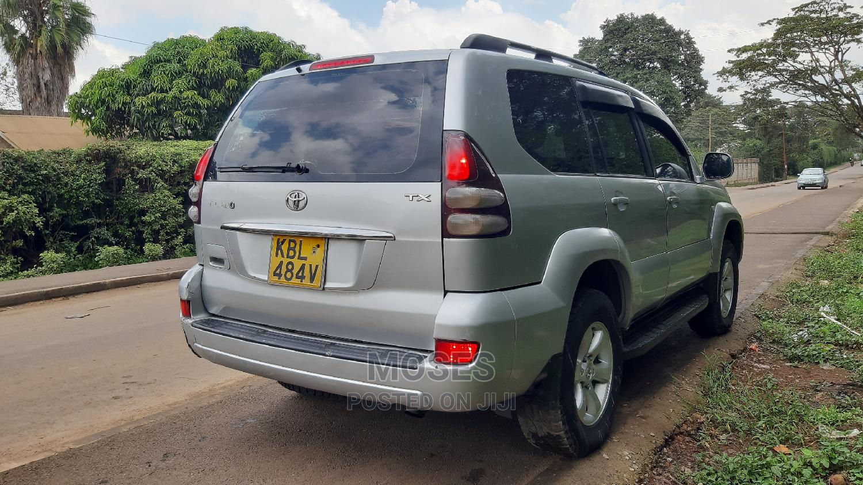 Toyota Land Cruiser Prado 2003 Silver   Cars for sale in Woodley/Kenyatta Golf Course, Nairobi, Kenya