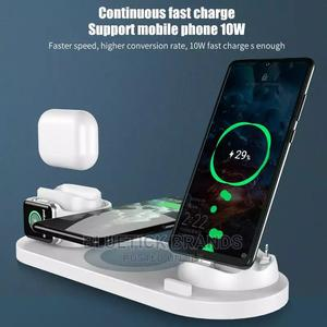 6 in 1 Wireless Charger Dock Station | Accessories for Mobile Phones & Tablets for sale in Nairobi, Nairobi Central