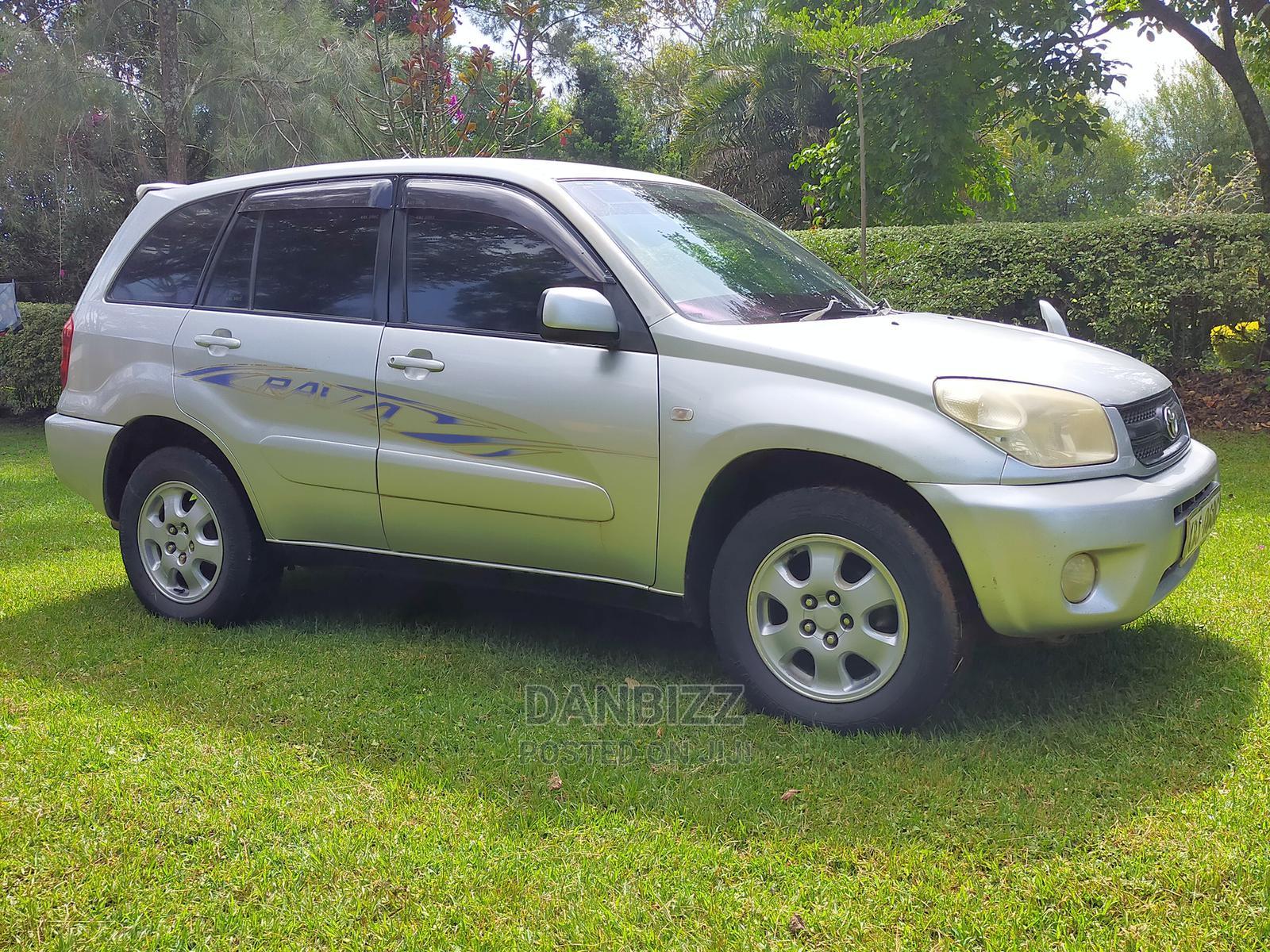Archive: Toyota RAV4 2005 Gray