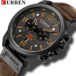 Men Chronograph Curren Leather Watch | Watches for sale in Nairobi, Nairobi Central