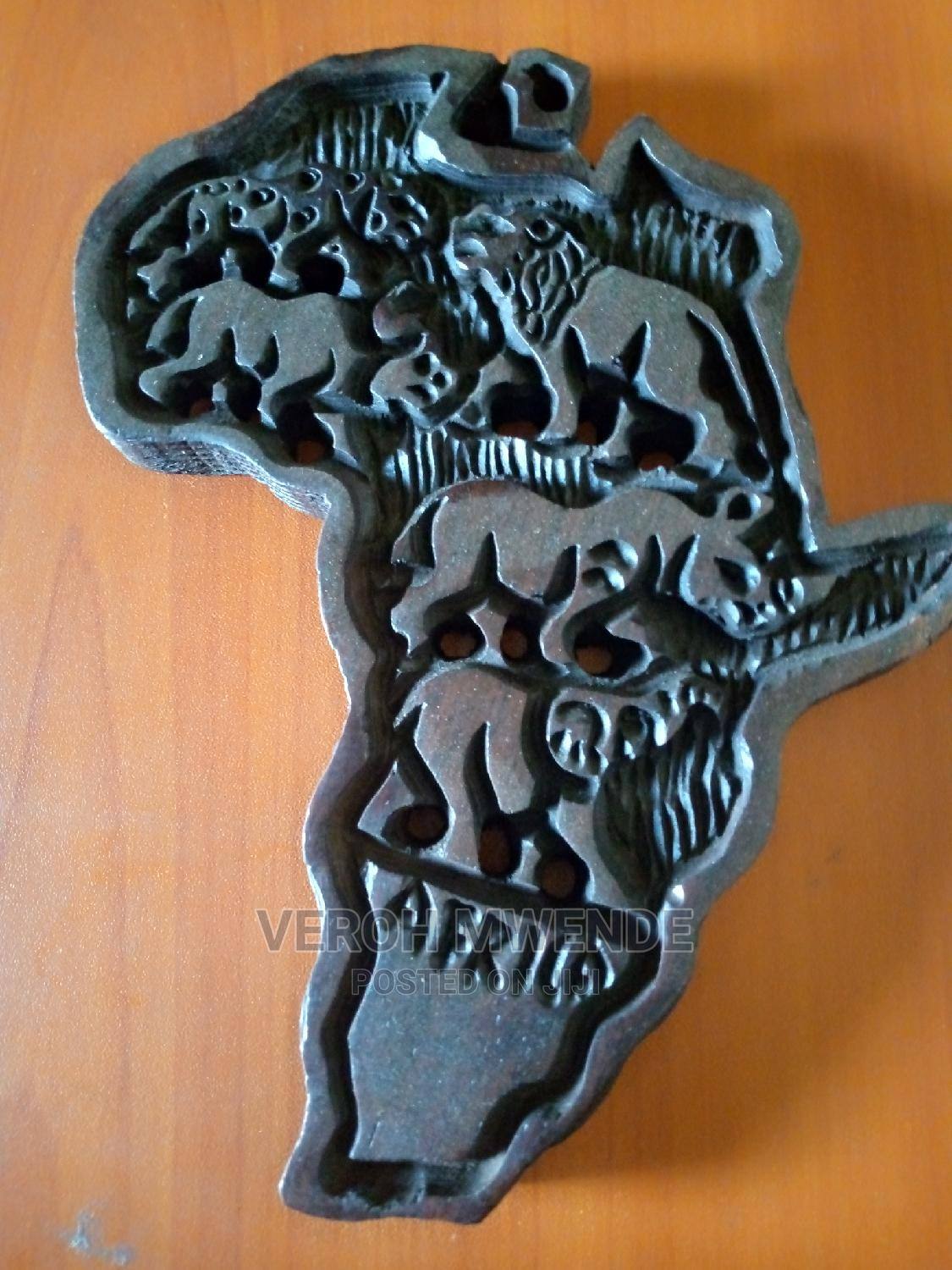 Archive: Wooden Africa Map