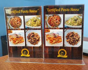 Acrylic Menu Stands | Printing Services for sale in Nairobi, Nairobi Central