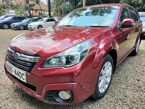 Subaru Outback 2013 2.5i Premium Red | Cars for sale in Nairobi, Kilimani