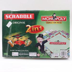 2 in 1 Monopoly and Scrabble Board Game   Books & Games for sale in Nairobi, Nairobi Central