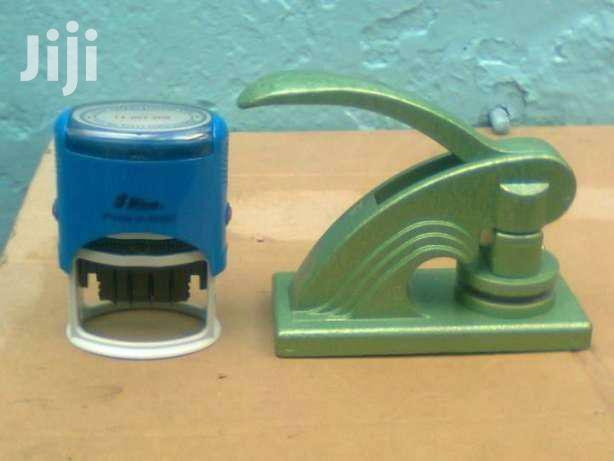Handy Stamp And Portable Company Seal | Store Equipment for sale in Nairobi Central, Nairobi, Kenya