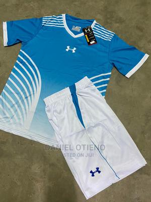 Team Uniform Sky Blue Striped White | Sports Equipment for sale in Nairobi, Nairobi Central
