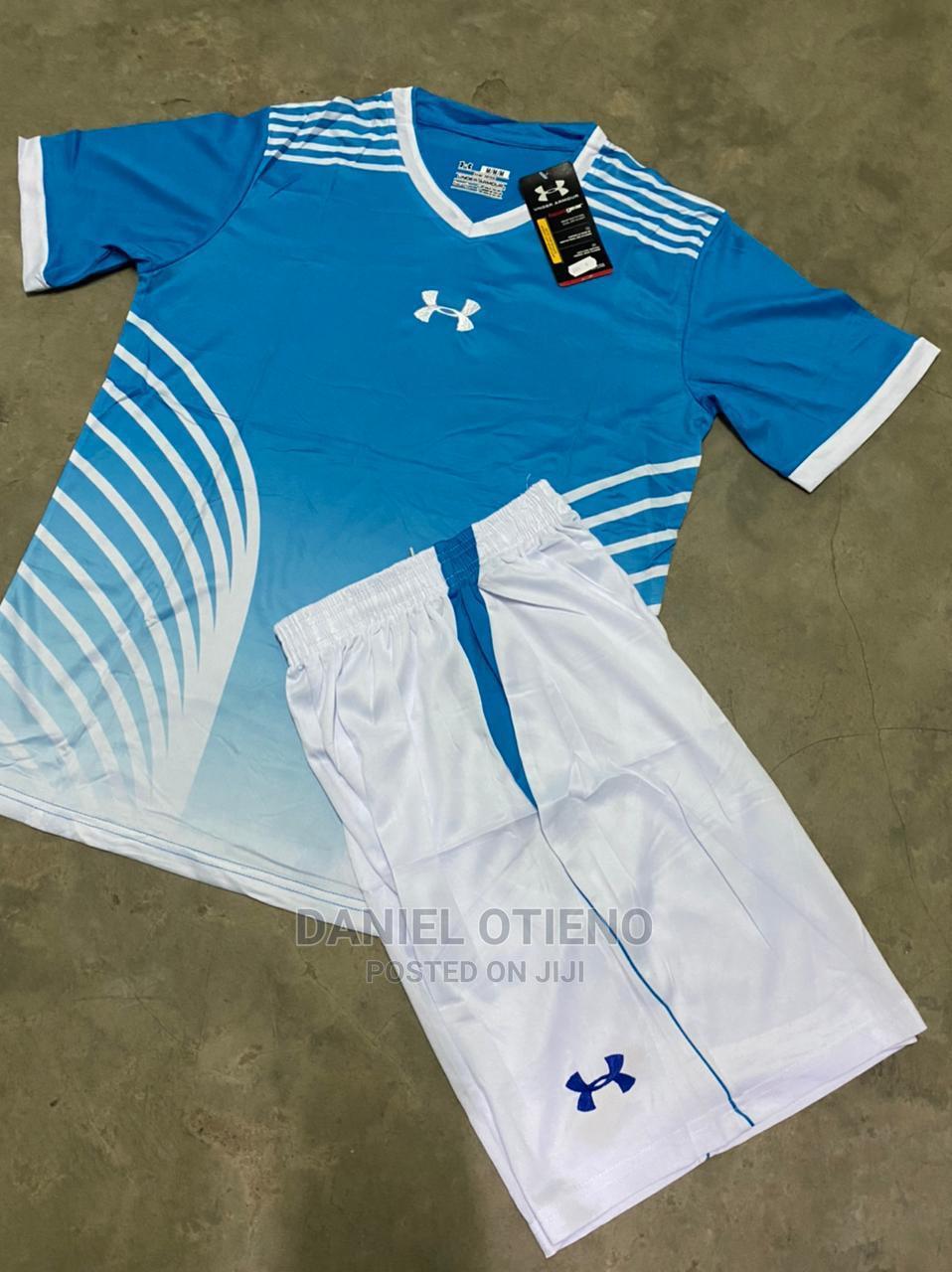 Team Uniform Sky Blue Striped White
