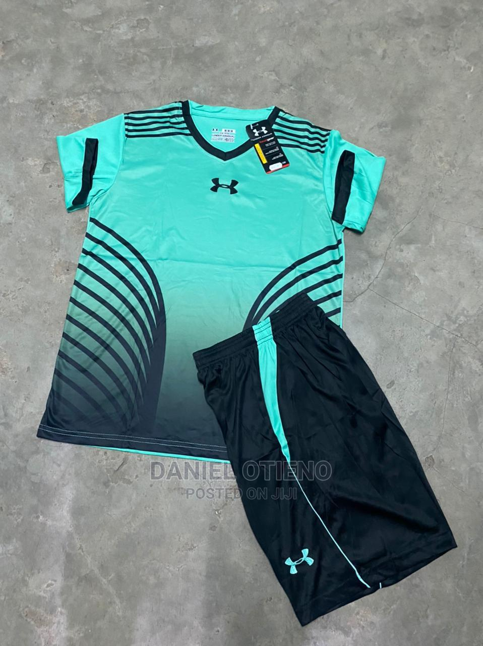 Team Uniform Sky Blue Striped White   Sports Equipment for sale in Nairobi Central, Nairobi, Kenya
