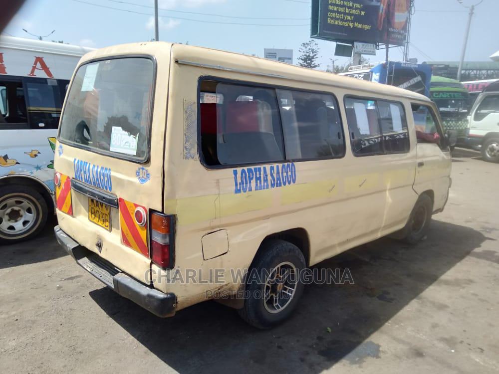 Archive: Nissan Matatu