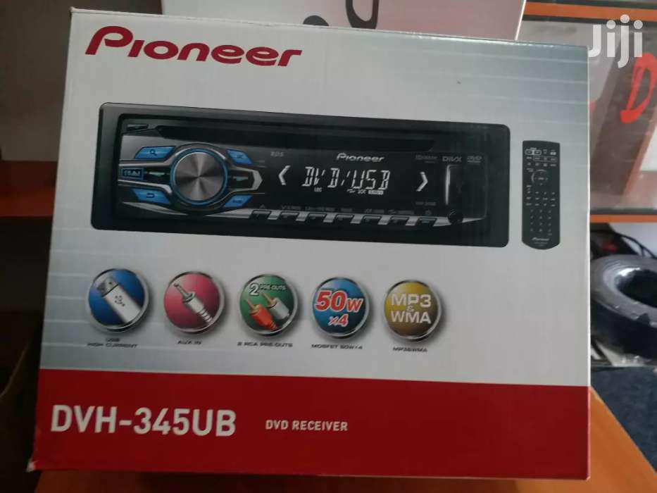 Pioneer Video Player DVH-345UB With Aux/Fm/USB/Plays Video/New In Sjop