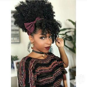 Curly Kinky Clip-In Hair Fringe Bangs | Hair Beauty for sale in Nairobi, Nairobi Central