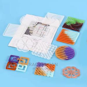 Coaster Mold With Design   Arts & Crafts for sale in Nairobi, Nairobi Central