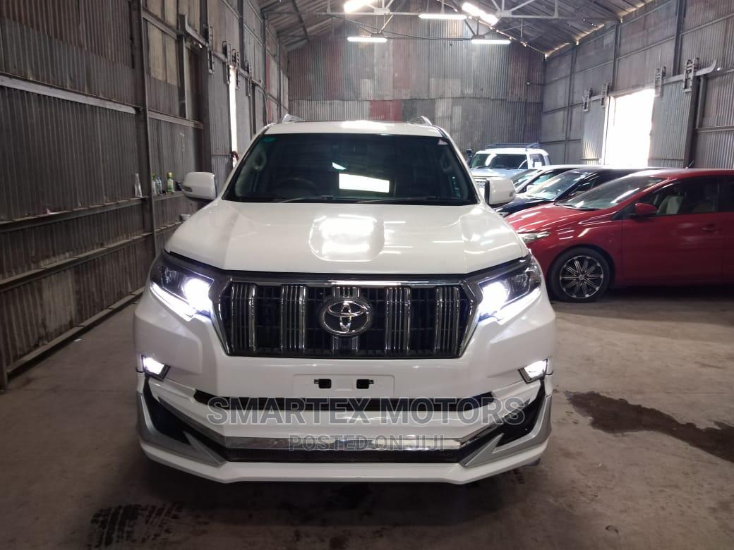 Toyota Land Cruiser Prado 2015 White