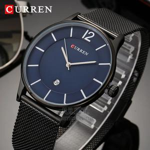 Curren Blue Faced Slim Metal Watch Available at 3000ksh | Watches for sale in Nairobi, Nairobi Central