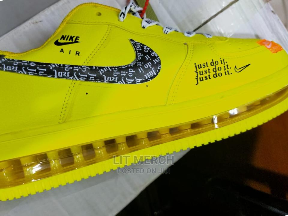 Classic Nike Airforce Clearsole Trendy Sneakers