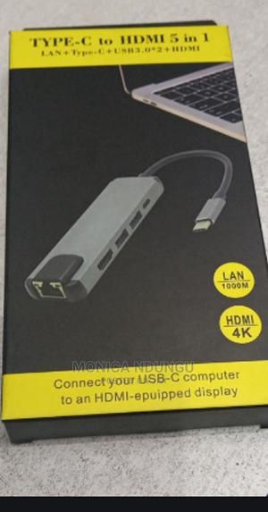 5 in 1 Type C Hub | Accessories for Mobile Phones & Tablets for sale in Nairobi, Nairobi Central