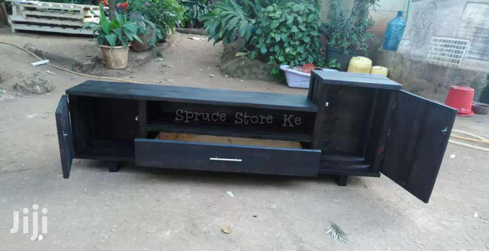 Rustic Tv Stand With Doors