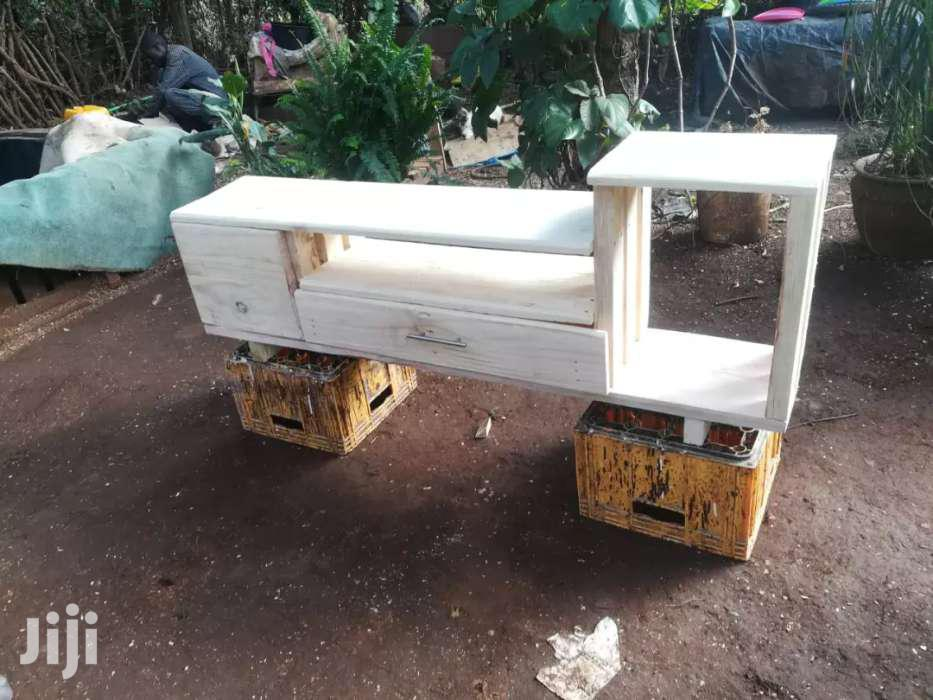 Rustic Tv Stand With Doors | Furniture for sale in Roysambu, Nairobi, Kenya