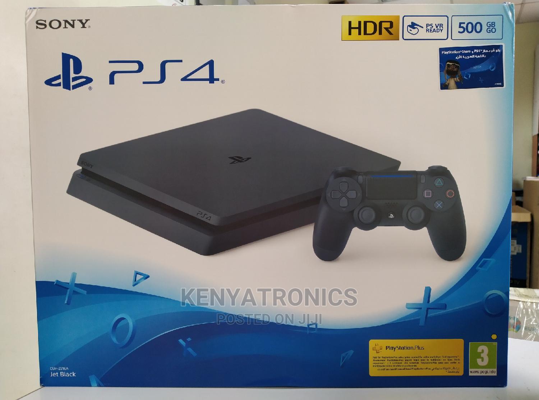 Archive: Sony Playstation 4 Slim Gaming Console 500GB(Black PS4 Slim)