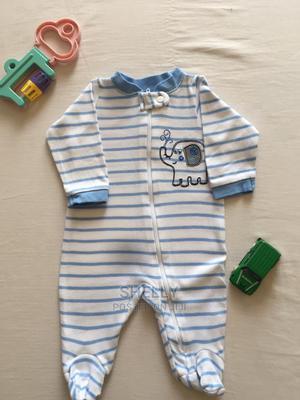 White and Blue Striped Romper | Children's Clothing for sale in Nairobi, Nairobi Central