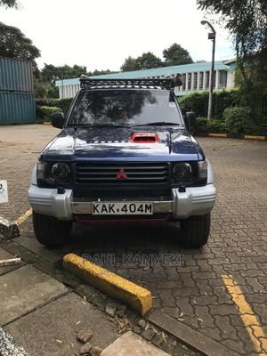 Mitsubishi Shogun 1992 Blue   Cars for sale in Nairobi, Westlands