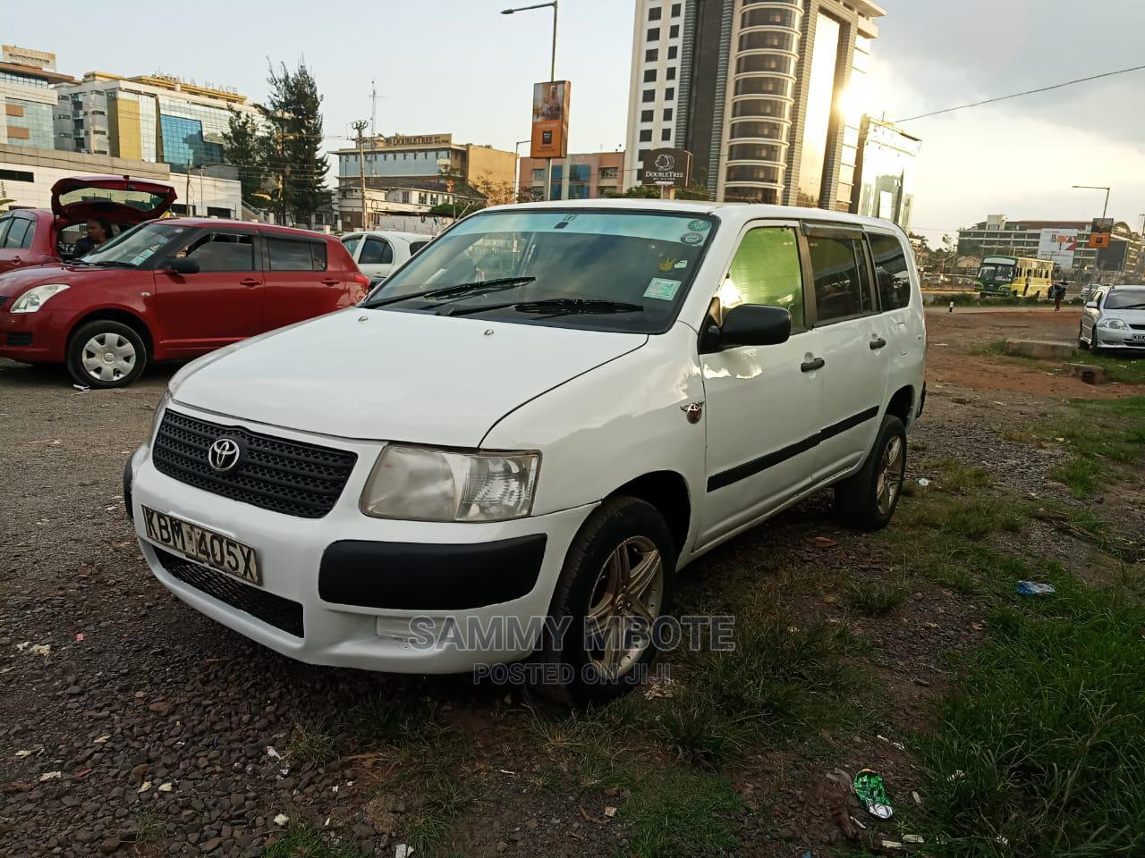 Toyota Succeed 2004 White   Cars for sale in Kilimani, Nairobi, Kenya