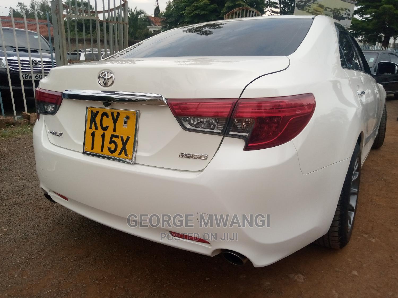 Toyota Mark X 2013 White   Cars for sale in Westlands, Nairobi, Kenya