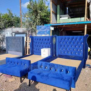 4 by 6 Modern Beds+ Ottoman | Furniture for sale in Nairobi, Kahawa