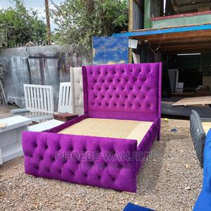 5 by 6 Purple Chester Bed   Furniture for sale in Nairobi, Kahawa