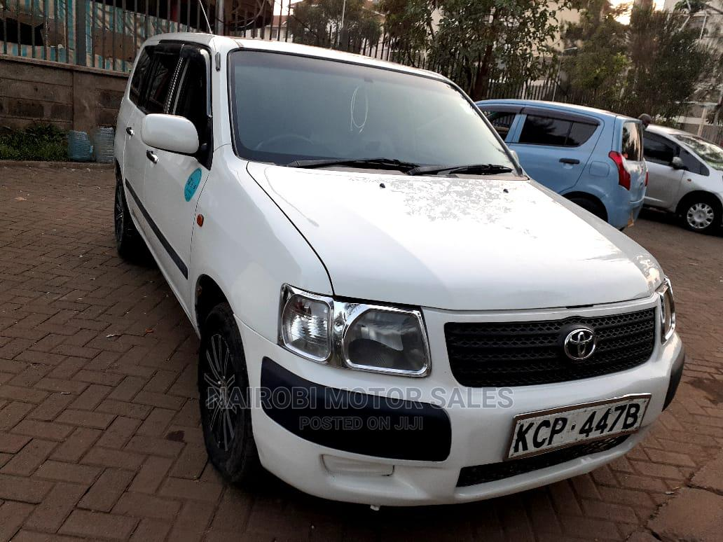 Toyota Succeed 2010 White