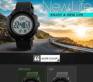 Skmei 1215 Waterproof Black | Watches for sale in Nairobi, Nairobi Central