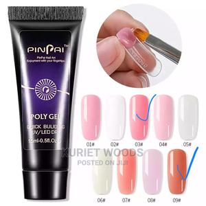 15ml Poly/Gum Gel With Mould Tips   Bath & Body for sale in Nairobi, Embakasi