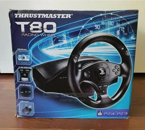Thrustmaster T80 Racing Wheel Pedals For (PS4/PS3/PC) | Video Game Consoles for sale in Nairobi, Nairobi Central