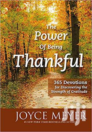 The Power Of Being Thankful-joyce Meyer   Books & Games for sale in Nairobi, Nairobi Central