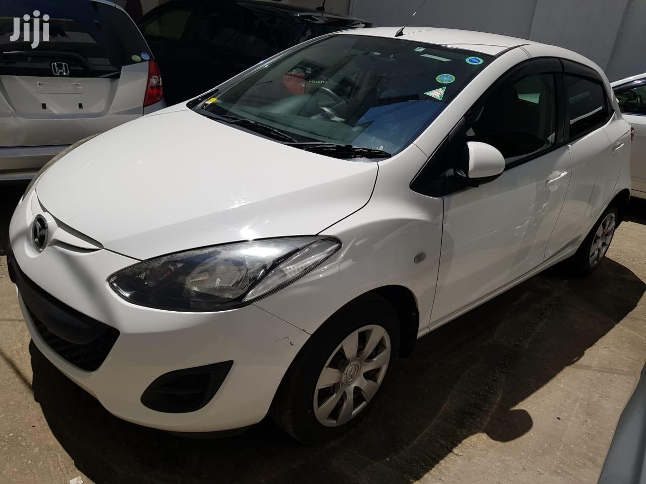 New Mazda Demio 2012 White | Cars for sale in Tudor, Mombasa, Kenya