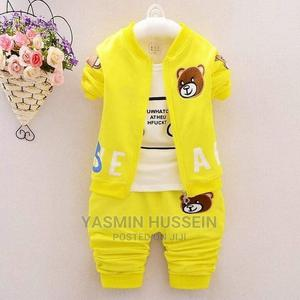Baby Wear Available in Yellow Red Gray   Children's Clothing for sale in Nairobi, Umoja